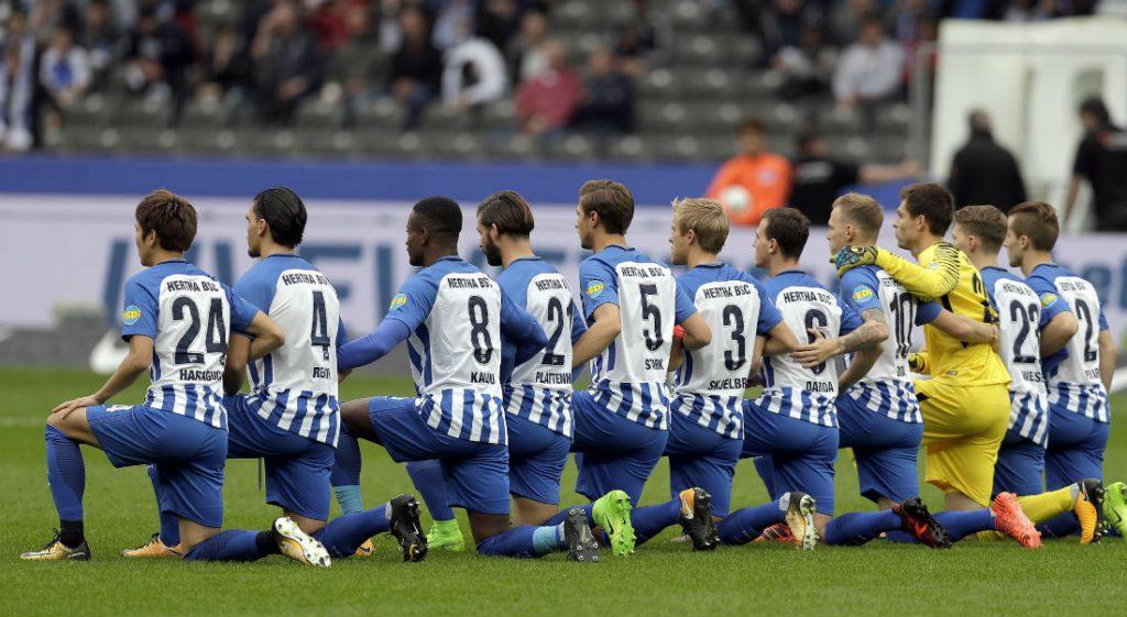 عاجل تشكيلة هيرتا برلين ضد دورتموند الرسمية