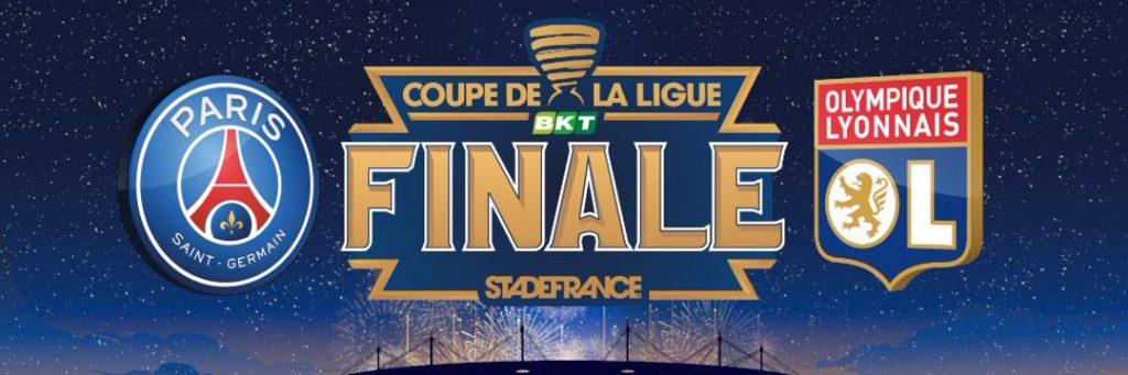 بث مباشر مباراة باريس سان جيرمان وليون في نهائي كأس الرابطة الفرنسية