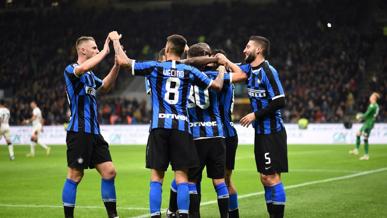 ملخص مباراة انتر ميلان وروما في الدوري الإيطالي